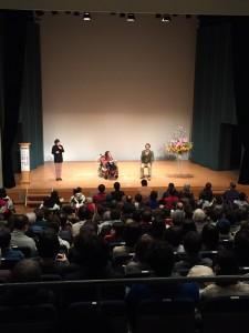 海老原宏美さんと宍戸監督のト-ク