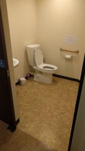※バリアフリートイレは5階です