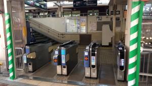 1-1.十三駅西口改札