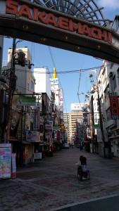 2-1.「SAKAEMACHI」商店街を進みます